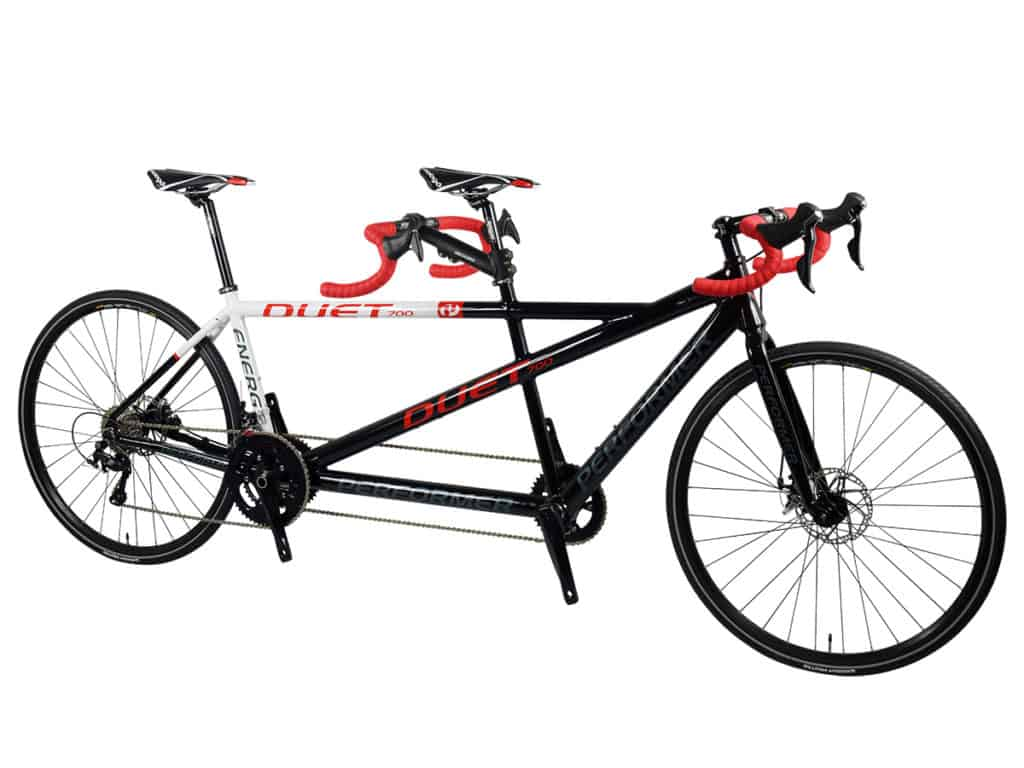 Drop Bar Tandem Bike Black