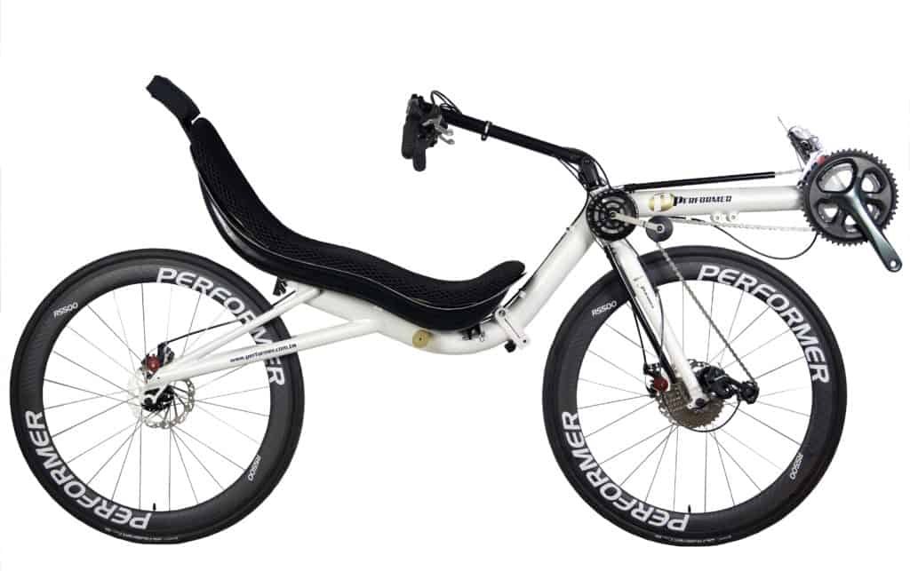 High Racer Recumbent Front Wheel Drive Folding