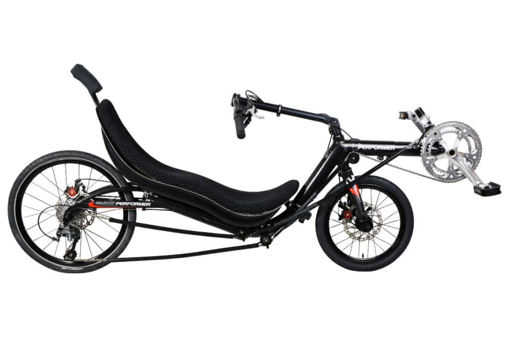 Low Racer Recumbent Folding bike