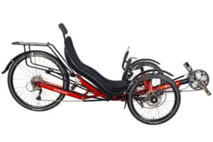 Recumbent Trike Rear Suspension