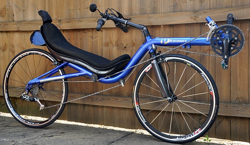 Recumbent High Racer Blue