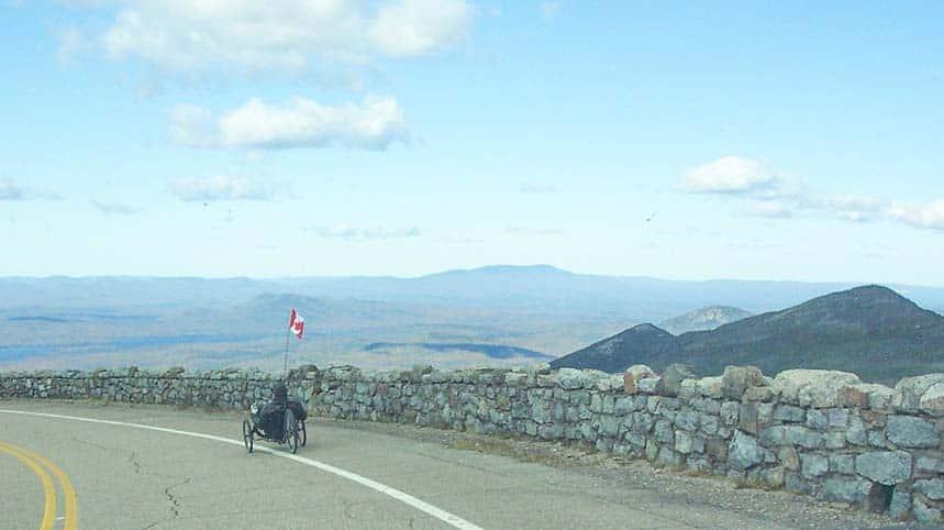 Recumbent Trike Fast Descent