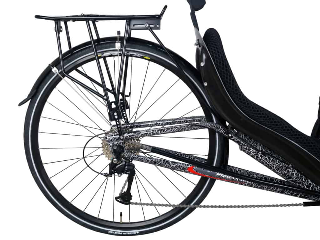Popular Recumbent Trike Rear Wheel