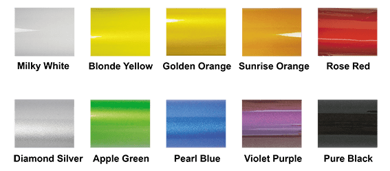 color range for performer aluminum bikes and trikes