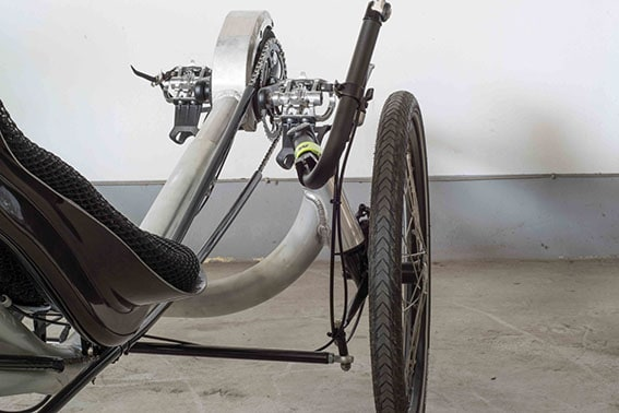 uss steering on recumbent trike