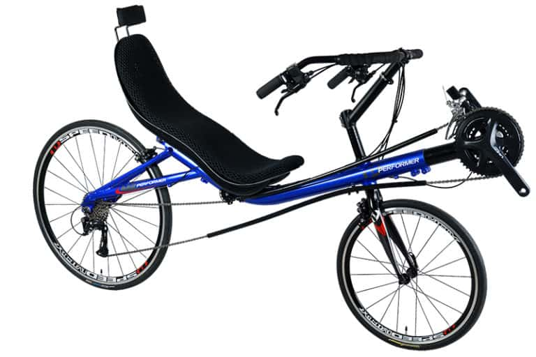 Recumbent Touring Bike Image