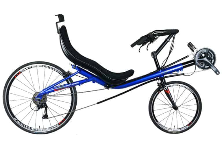 Recumbent Touring Bike Side Image