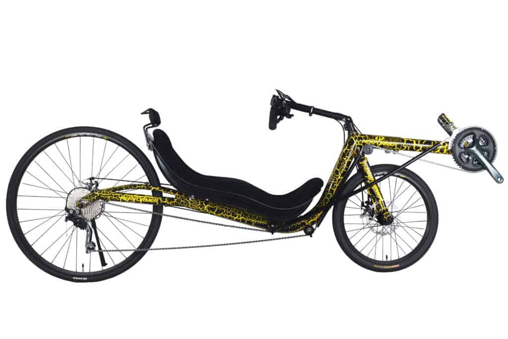 Low Racer Recumbent Mini full side view